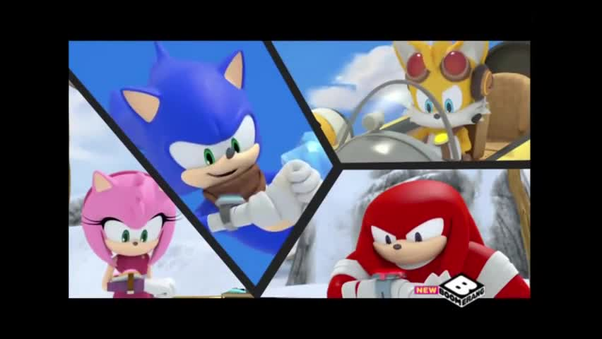 goddamit.. .. Yes Sonic Boomer is a good show. Tell me something I don't know.