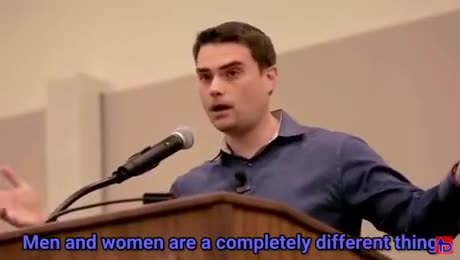 ben shapiro. .. source? would be nice to see without the edgy editing