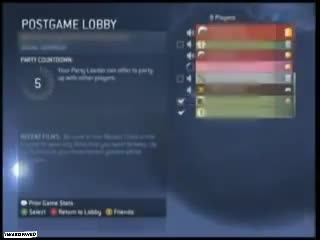 OG Halo 3 Lobbies XXXGAYBOYXXX. .. Kids Today could never survive xbox live Comment edited at .
