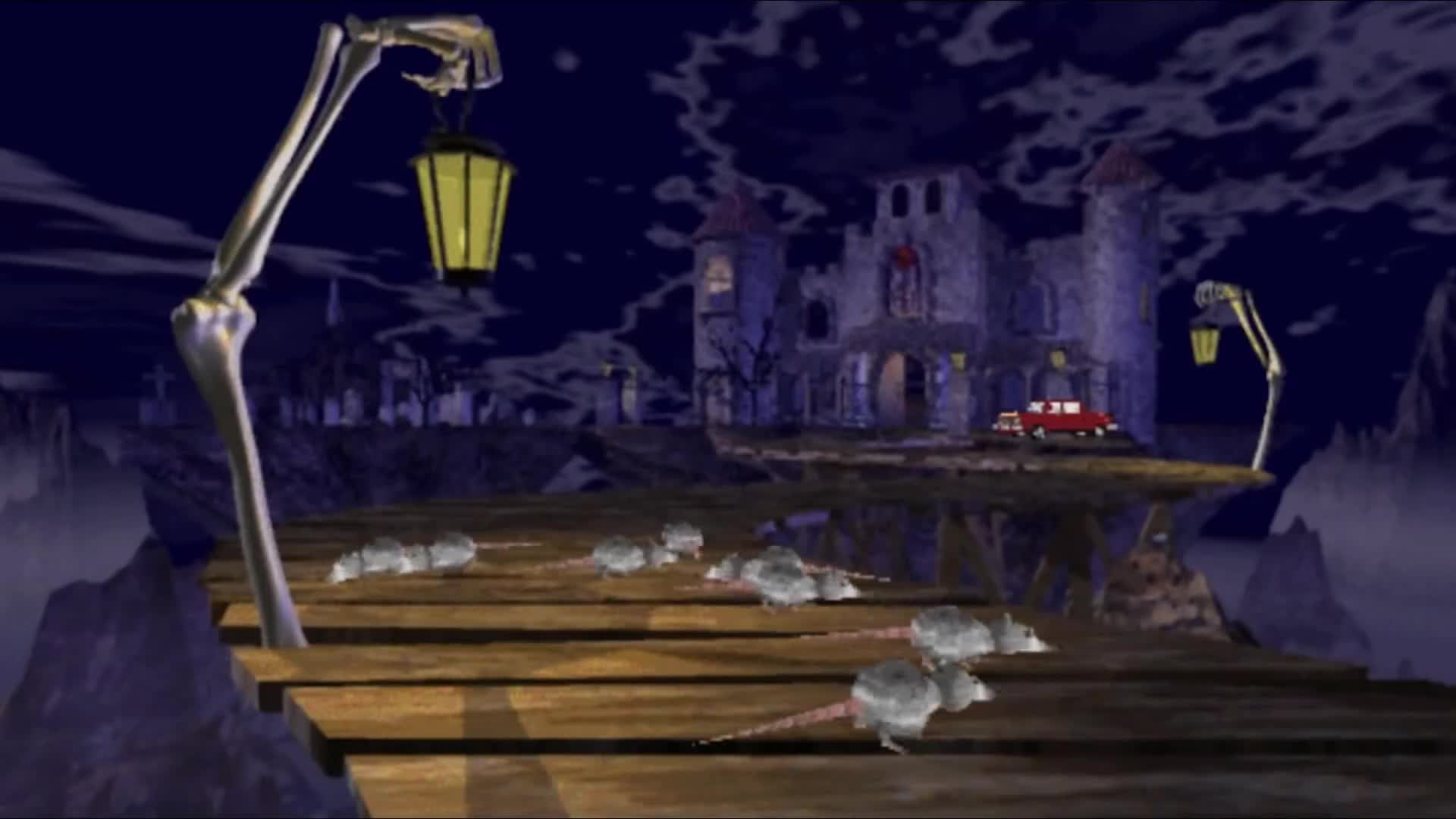 Rodent Time. .. >The thud the rat makes when it falls off the bridge Holy my sides