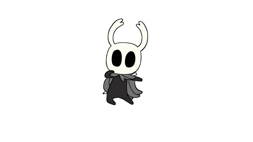 Hollow Kht Comp. .. love the rise in hollow knight content Loved this game so much the moment I finished it I went and got him and hornet tattoos