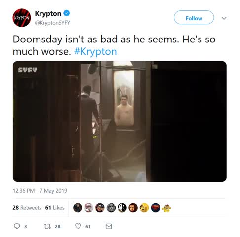 ing genius. https://twitter.com/KryptonSYFY/status/1125846822814126080 You wish it was edited... Clicked the play button and turned out to be an actual video, wtf kinda sorcery is this