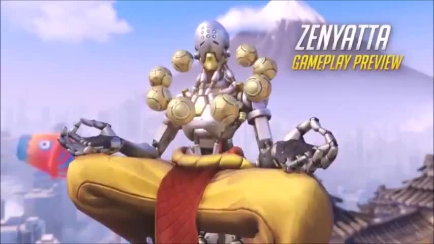 new OW footage. .. Was expecting it to be Zen stood in front of 6 Bastion Tanks