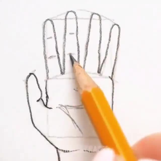 how to draw feet and hands. .. I can't wait to try this and end up with this