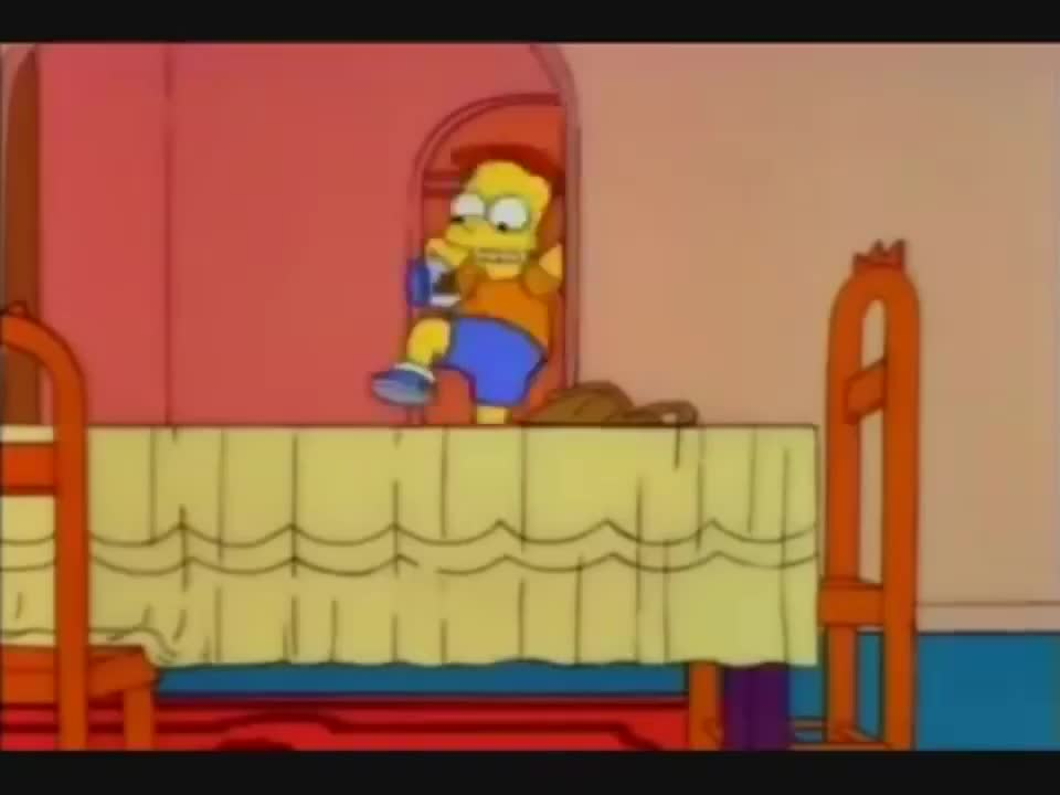 One of the best sixty seconds from the Simpsons. .. Big old smile on my face entire time watching it.
