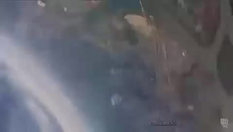 Spooky airplane jump gone wrong?. .. YOU, BRO!!!'