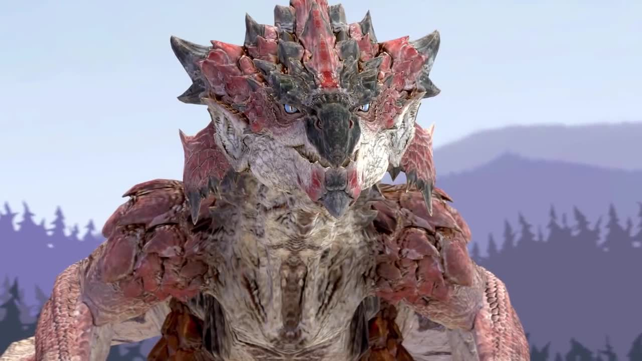 A Message From Rathalos. Source: .. it bothers me how well done this is