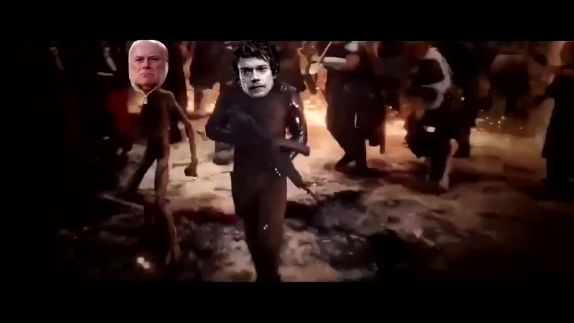 How it should end. Spoilers for Endgame if you haven't seen it yet... THE DOTHRAKI WHOOOOOOOOORRREE NED ON AN OPEN FIEELD damn i love bobby b