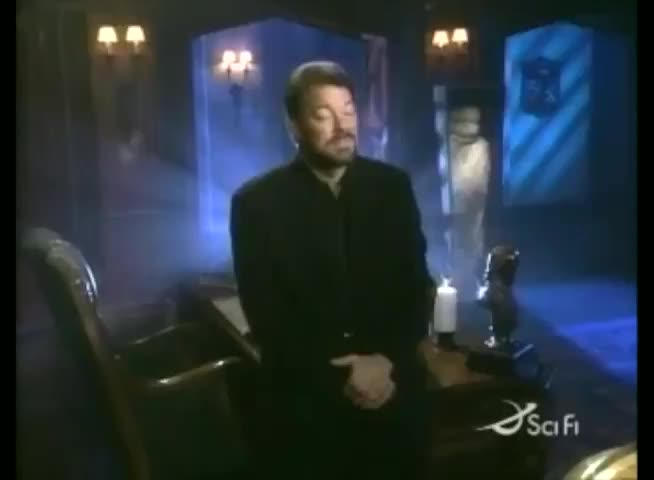 jonathan frakes telling you you're wrong for 47 seconds. .. Is this Fact Or Fiction? I loved this show