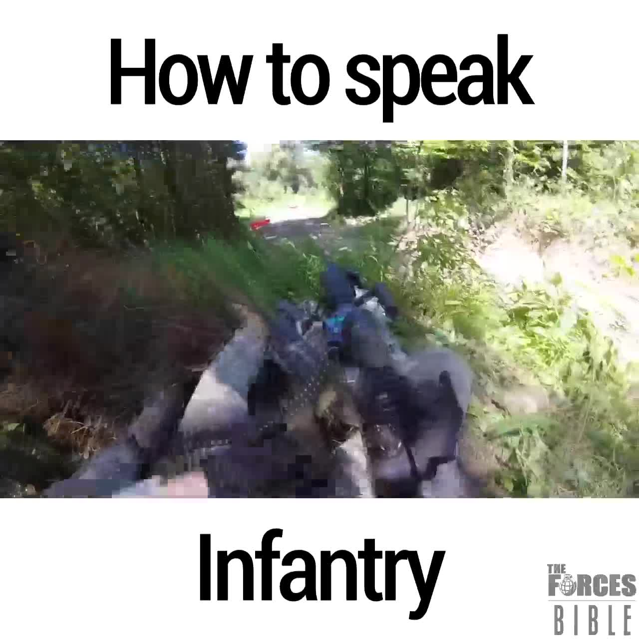 Infantry speak. join list: Combat (614 subs)Mention Clicks: 22253Msgs Sent: 93997Mention History.